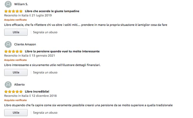 5 STELLE Best Seller Amazon
